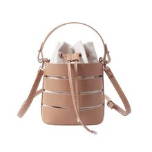 Women Ladies Drawstring Bucket Bag Crossbody Leather Shoulder Bags Tote Purse Handbag Messenger Satchel whosepet funny dogs printing one shoulder bags women messenger bags girls sling bag stylish satchel handbag ladies purse satchel