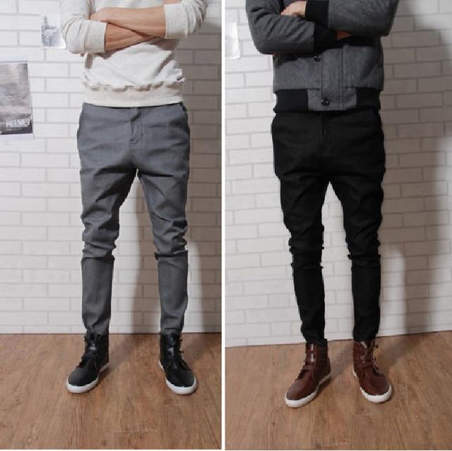 pantalon à 2015 pantalon nouveaux la pour casual hommes fitness coton hommes Slim homme mode skinny xxrwTq