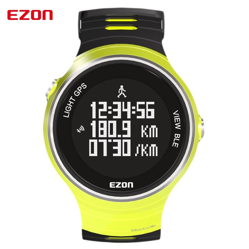 Prix pour Top marque ezon g1a05 multifonctionnel course à pied bluetooth smart gps montre-bracelet sport montre intelligente