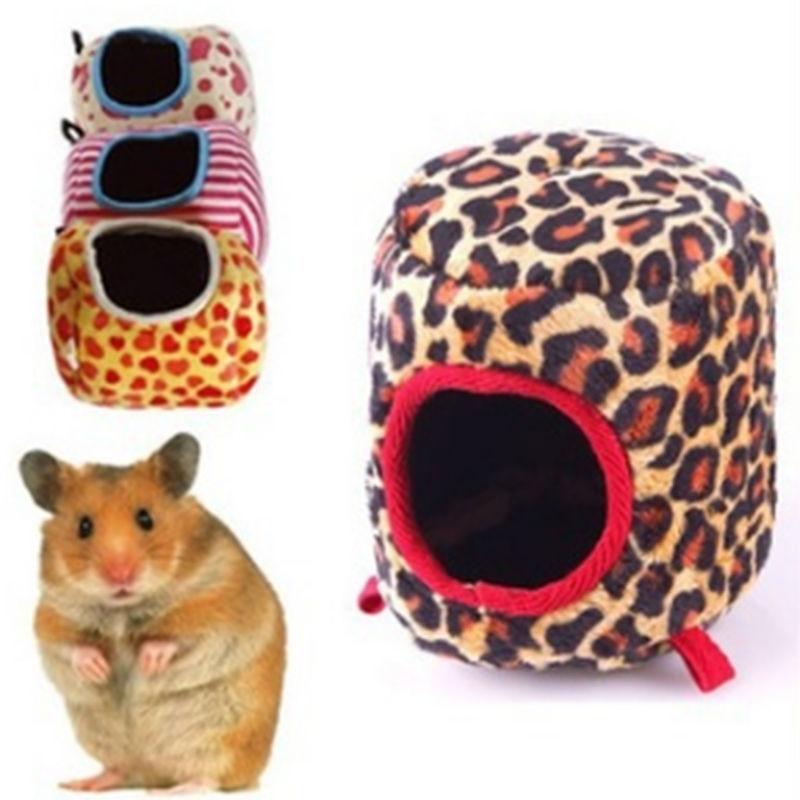 Pet Hammock For Ferret Rat Hamster Squirrel Parrot Plush Winter Warmer House W