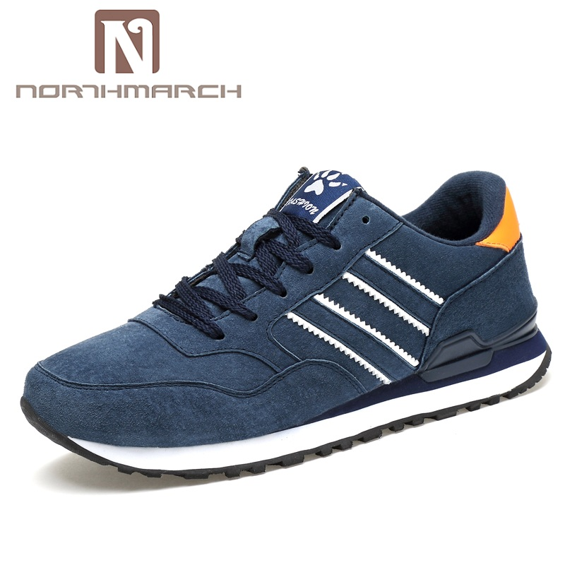 NORTHMARCH New Arrivals Men Casual Shoes Lace Up Comfortable Shoes Men Lightweight Outdoors Mens Sneakers Zapatos Hombre northmarch new arrivals spring genuine leather shoes men breathable sneakers men comfortable casual shoes zapato hombre