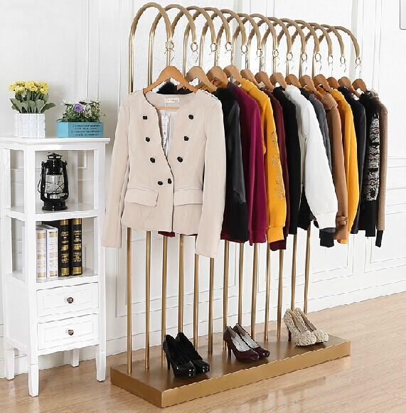 European High End Clothing Rack Clothes Display Rack