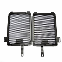 Aluminum Radiator Guard Cover For BMW R1200GS Models 2013 2014 Radiator Oil Cooler Protector Grille FRGBMW004