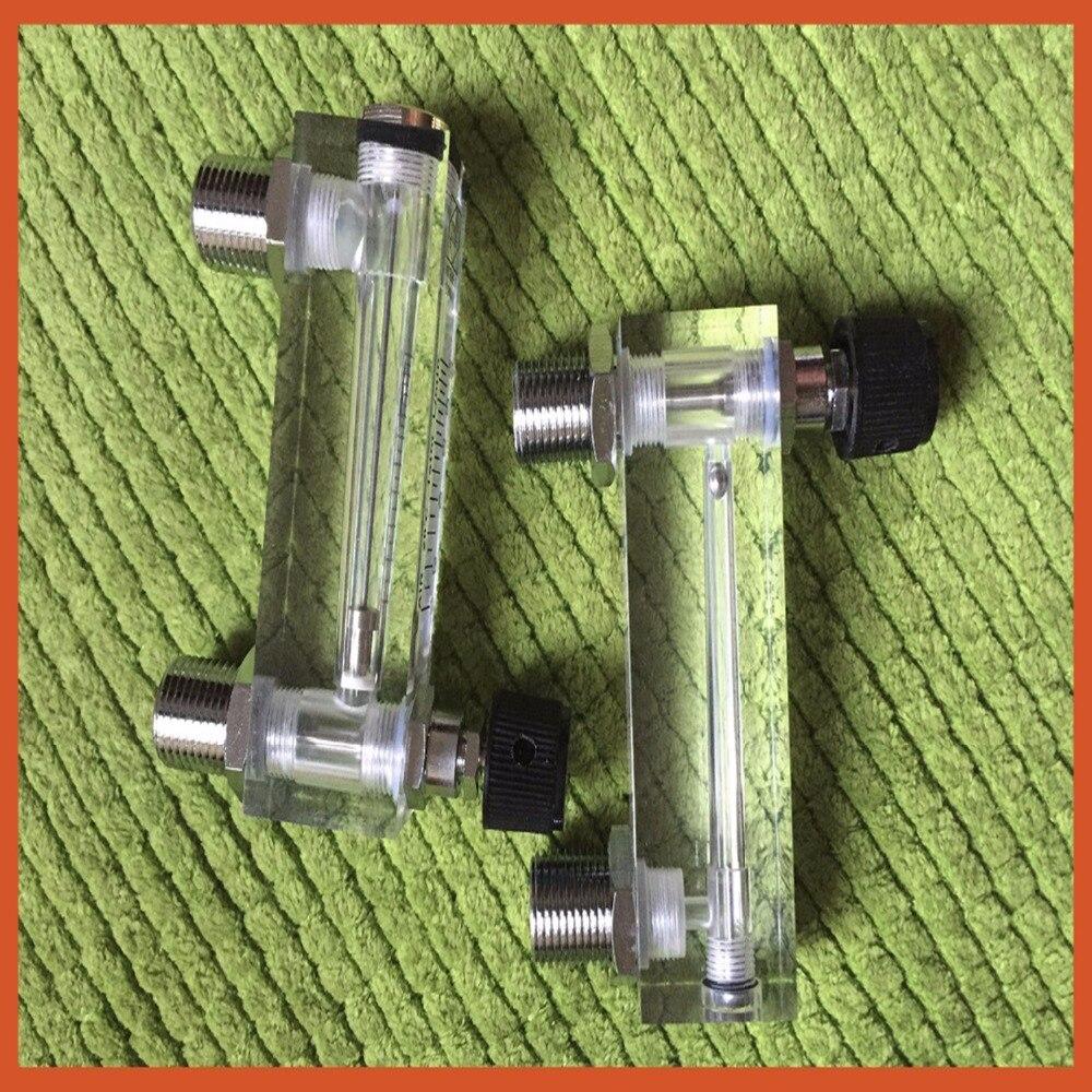 LZT 6T 10 100 L/min Tipo Quadrado Do Painel de Gás Fluxômetro Medidor De Fluxo De Ar rotameter LZT6T Ferramentas De Medição De Fluxo Peças e acessórios p/ instrumentos     - title=