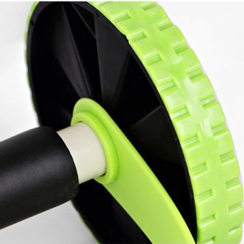 Abdominal Waist Slimming Trainer Exerciser Roller Core Double AB Wheel Fitness Equipment 6