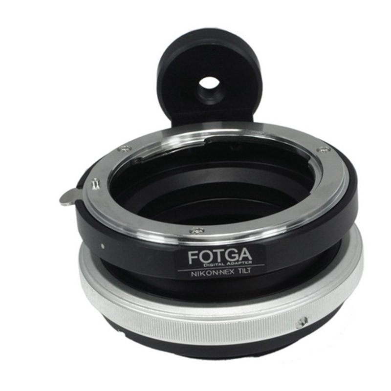 FOTGA Tilt Shift Adapter Ring for Nikon F Lens to Sony E Mount NEX-7 Nex3 5 5N A6500 A7 A7R II Cameras fotga adapter ring for contax yashica cy lens to sony e mount nex 3 nex 5 nex 7 5c 5n 5r cameras