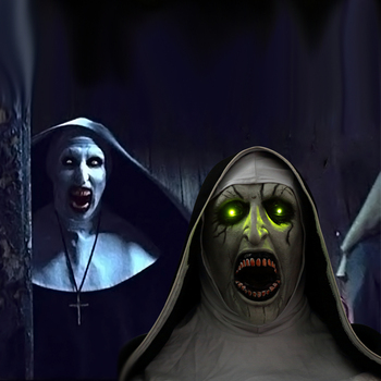 The Nun Mask Horror Mask With Scary Voice With Led light Cosplay Valak Latex Masks With Headscarf Helmet Halloween Party Props