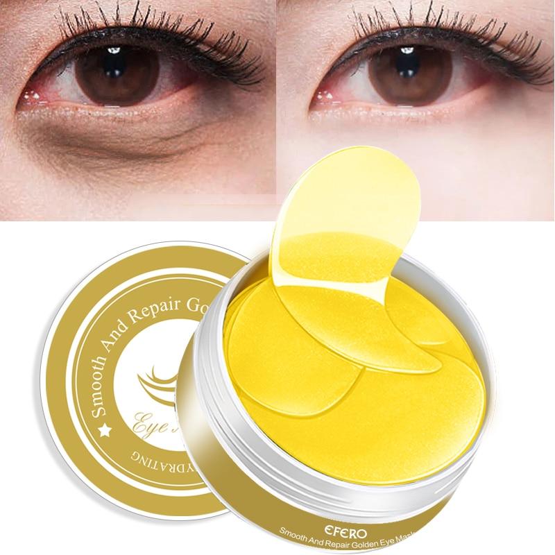 2Pcs/set Snail Cream for Face Serum Repair Cream Face Cream Gold Eye Patch Under the Eyes Collagen Eye Mask Remove Dark Circles
