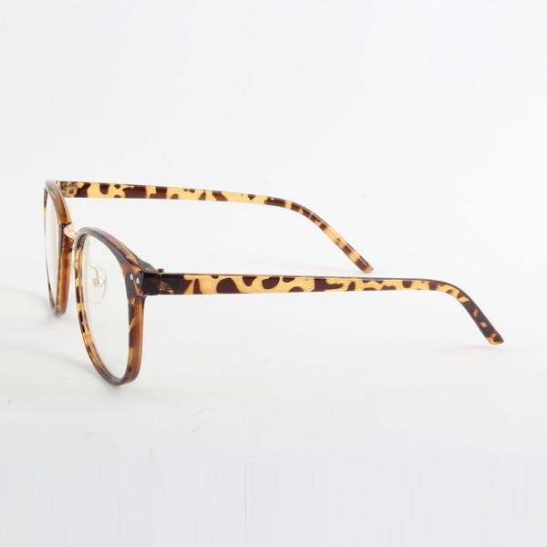Moda Unisex Marea Gafas ópticas Marco redondo Anteojos Metal Arrow - Accesorios para la ropa - foto 5