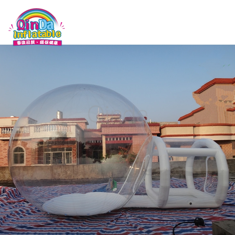 Inflatable Lawn Bubble Dome Tent  Clear Show Room with Tunnel for Outdoor Camping custom outdoor dome inflatable lawn tent for advertising
