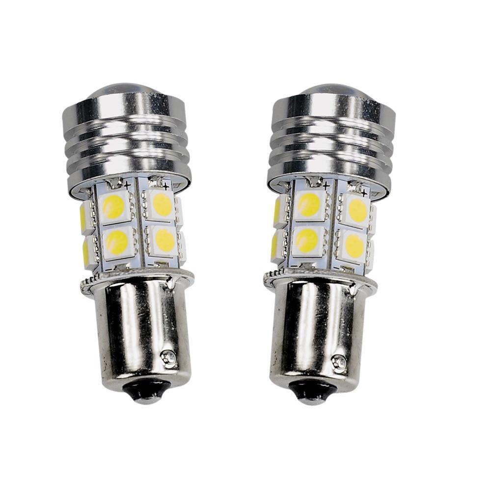 Pcs 1156 w Branco 6000 k LED 12 10 8 v Car Light Bulb BA15S 12 SMD LEDs Lâmpadas de Estacionamento cauda De Backup Luzes Inversas Universal Auto Lâmpada
