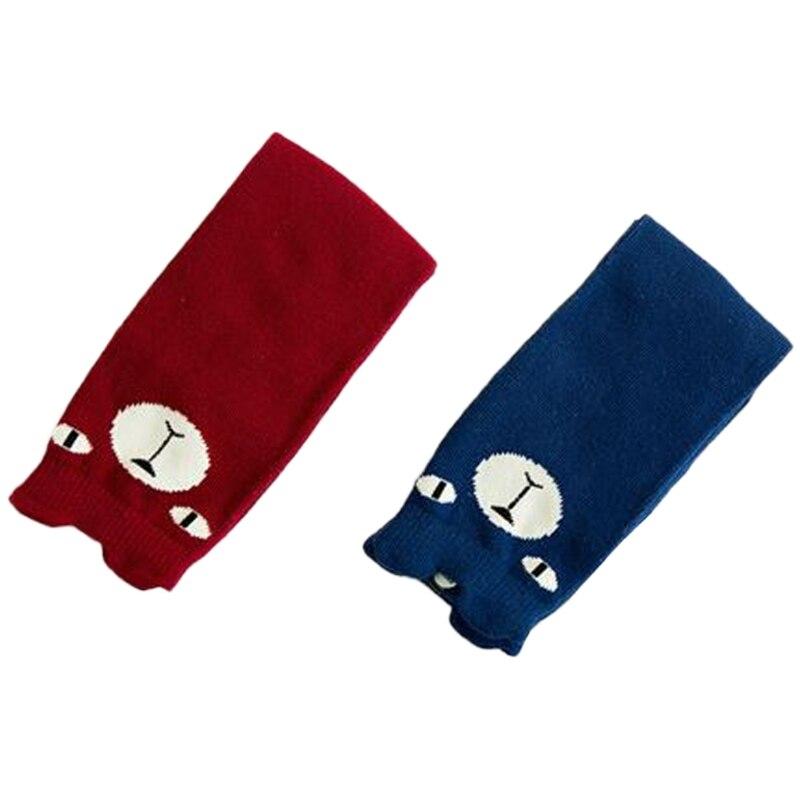 2017Cute Bear Pattern Winter Autumn Calf Length Tube Crew Socks For Child Toddler     NOV27_45