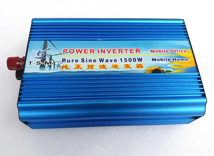 12 В до 220 В 60 Гц 1500 Вт Чистая Синусоидальная волна инвертор