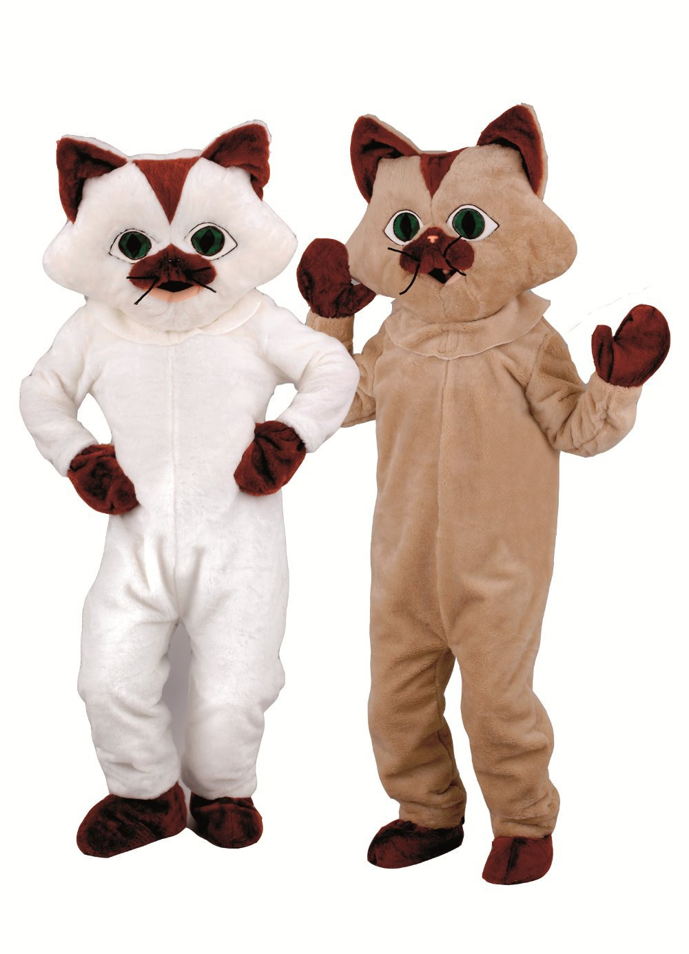 Realistic kitty theme anime cosplay costumes fursuit fancy dress kits