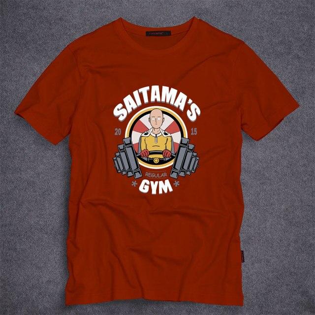Мужская футболки аниме мультфильм один удар человек сайтама летом с коротким рукавом тройники толстовки мода костюмы для человека S-5XL