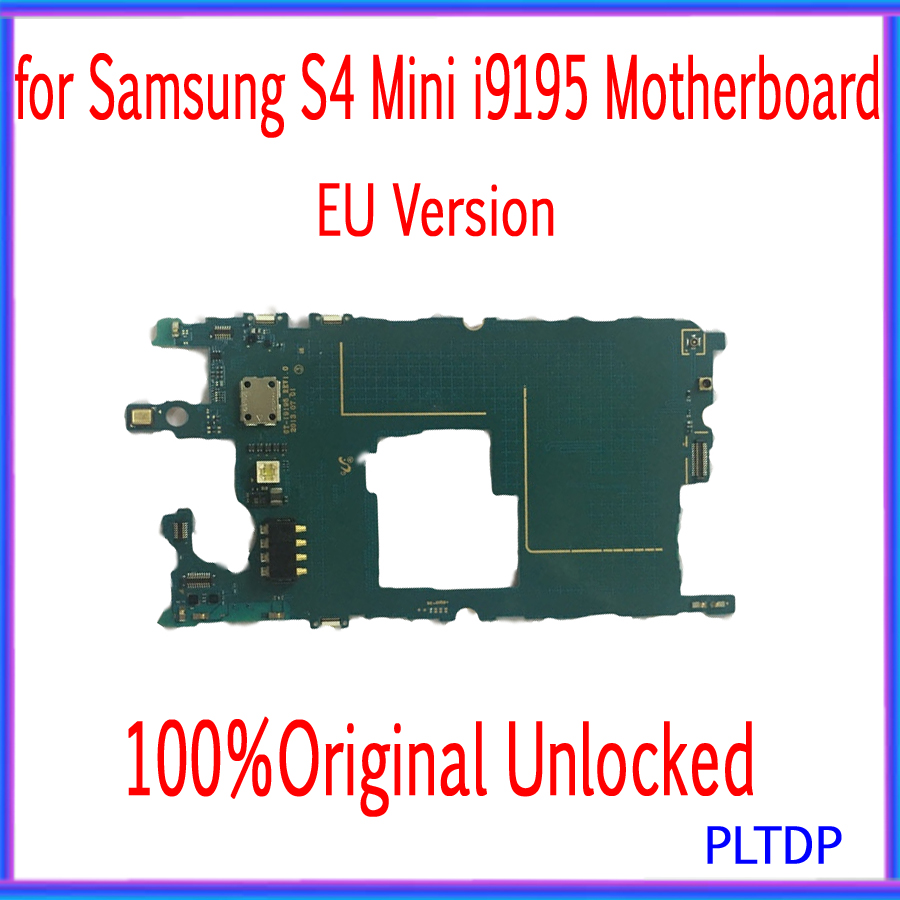 8GB For Original Samsung Galaxy S4 Mini i9195 Phone Motherboard Unlocked Mainboard With Chips OS Logic Board Good Working image