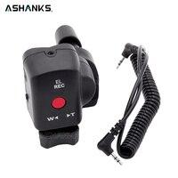 ASHANKS DSLR Camera Pro Control de Zoom para Sony LANC A1C 150 P DV Panasonic 180A 130AC ACC de Control Remoto para Fotografica vídeo