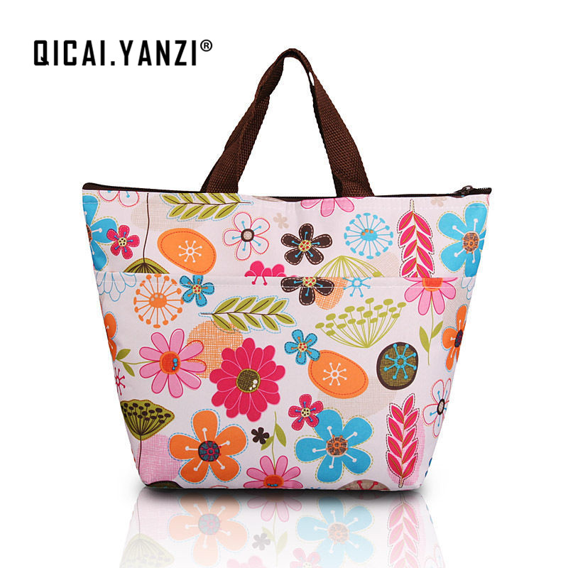 2017 Hot New Summer Lunch Bag Insulated Thermal Cooler Box Carry Tote Storage Travel Picnic Bag