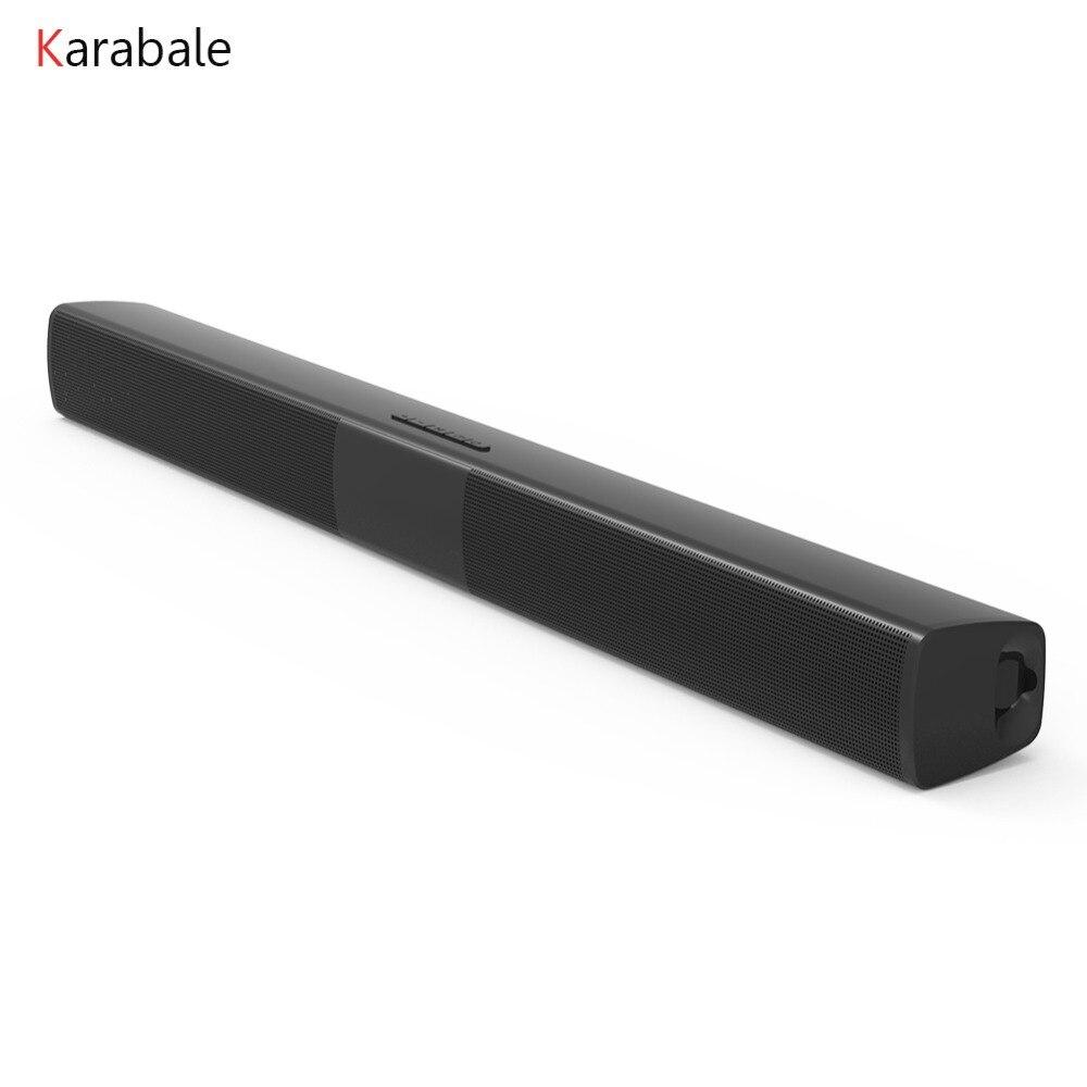 20 W Bluetooth Lautsprecher Heimkino Soundbar Super Bass Tragbare Drahtlose Computer Tv Lautsprecher Subwoofer Mit Mic Fm Radio