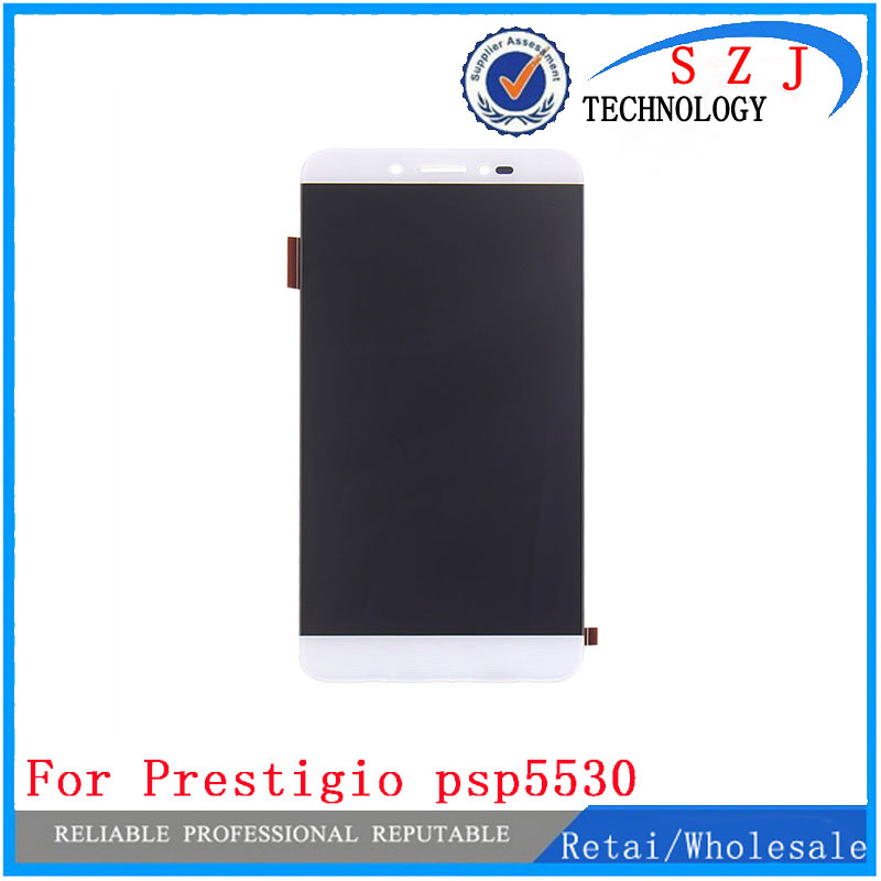 New 5.3 inch For Prestigio Grace Z5 psp5530duo psp5530 duo digitizer LCD Display Matrix + Touch screen panel lens glass