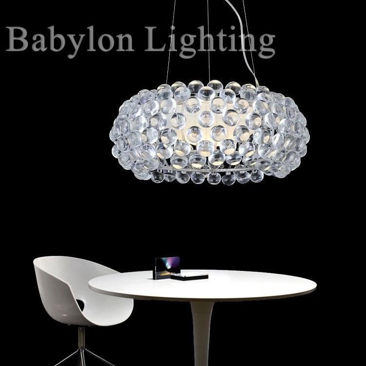 Italian Foscarini Caboche Glass Ball Pendant Lamp Light 35cm 50cm 65cm Ac90-260v Lighting Fixtures For Living Room Bedroom Hotel italian visual phrase book