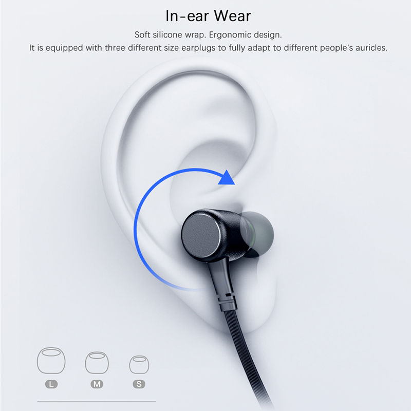 AWEI G30BL Neckband Bluetooth Headphone Magnetic Bluetooth Earphone Sport with mic Stereo Wireless Headset for phone Earbuds 3