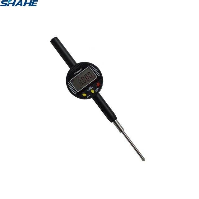 shahe  0 50 mm digital gauge indicator micron dial indicator digital dial indicator 0.001 mm dial gauge