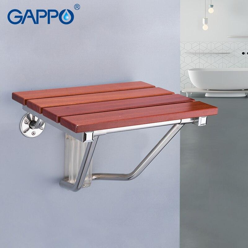GAPPO Mur Monté Douche Siège pliant banc pour enfants toilette de douche pliante chaises De Bain douche Tabouret Cadeira chaise de bain