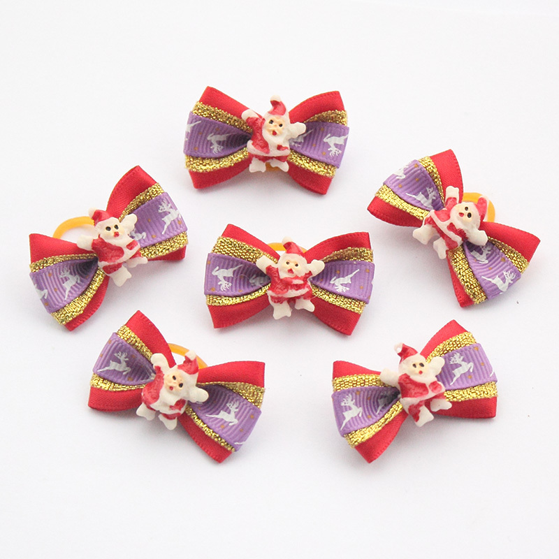 100-PcsLot-Armi-store-Handmade-Christmas-Dogs-Bow-Festival-Grooming-Bows-For-Dogs-6011035-Pet-Jewelry-Accessories-Wholesale-3