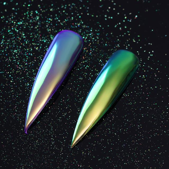 0.2g Nail Glitter Powder Neon