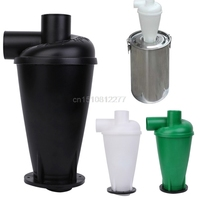 Cyclone Dust Collector Filter Turbocharged Cyclone With Flange Base Separator J24 Dropshipping