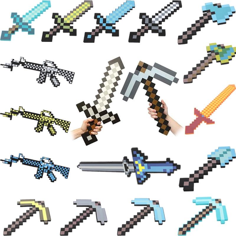 Stück Minecraft Spiel Requisiten Modell Spielzeug Waffe Pistole - Minecraft waffen spiele