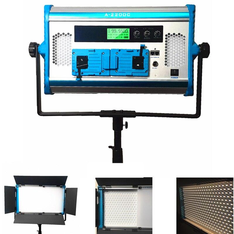 Yidoblo RGB Ha Condotto La Luce di Pannello Video con il Telefono APP 2.4G Telecomando senza fili ha condotto la luce per la realizzazione di un film studio fotografico luce