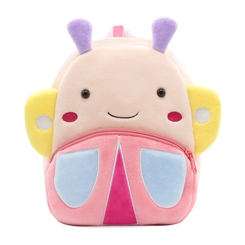 2020 Cartoon Kids Plush Backpacks Mini Kindergarten schoolbag Plush Animal Backpack Children School Bags Girls Boys Backpack - 32