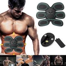 Effective ABS Stimulator Abdominal Toning Toner Gym Fitness Workout Muscle Training for Men Women Smart abdominal muscle sticker