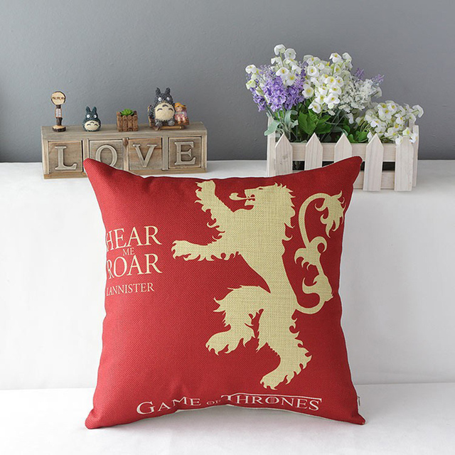Game of Thrones Cotton Pillow  2