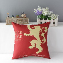 Game of Thrones Themed Linen Cover for Pillow