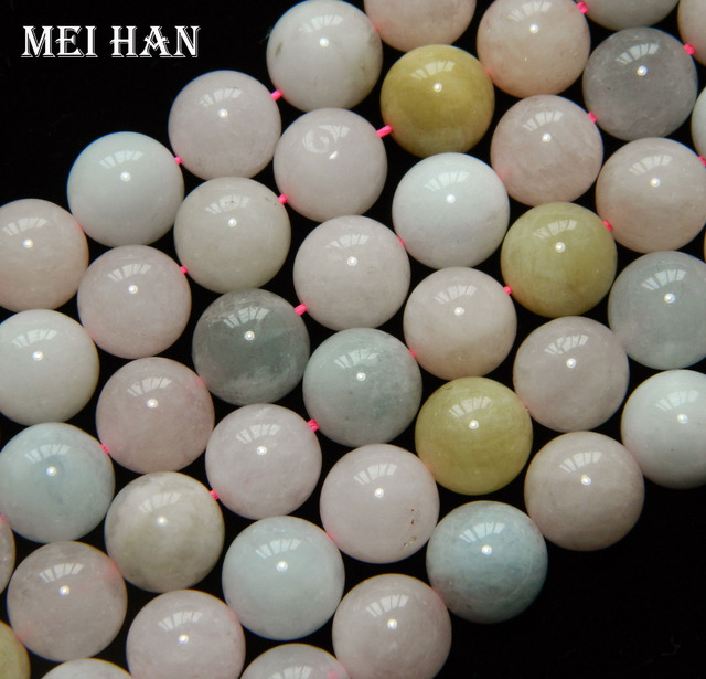 Natural 10mm Bery l Cyclosilicate charms beads bracelet stone to jewelry making design fashion stone diy bracelet necklace
