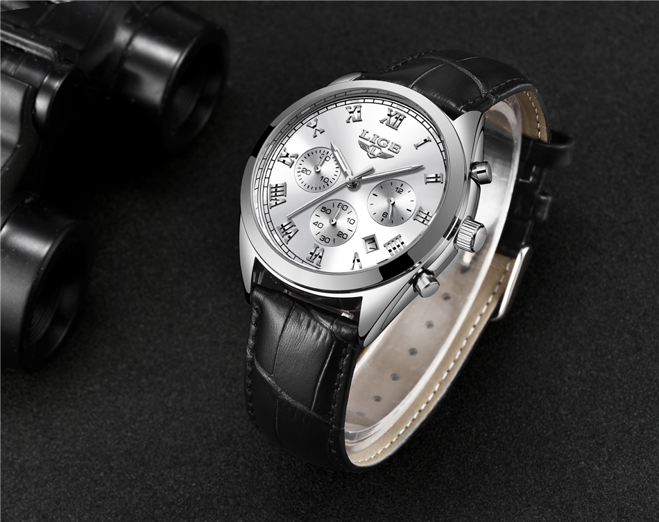 HTB1upyLwf5TBuNjSspcq6znGFXaE 2020 LIGE Mens Watches Top Brand Luxury Waterproof 24 Hour Date Quartz Clock  Male Leather Sport Wrist Watch Relogio Masculino