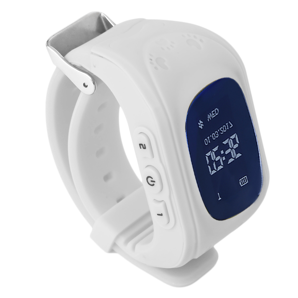 Anti-Lost Q50 Smart watch for Children Kid Wristwatch GSM GPRS Emergency SOS Locator Tracker for iOS Android pk Q100 baby Gift