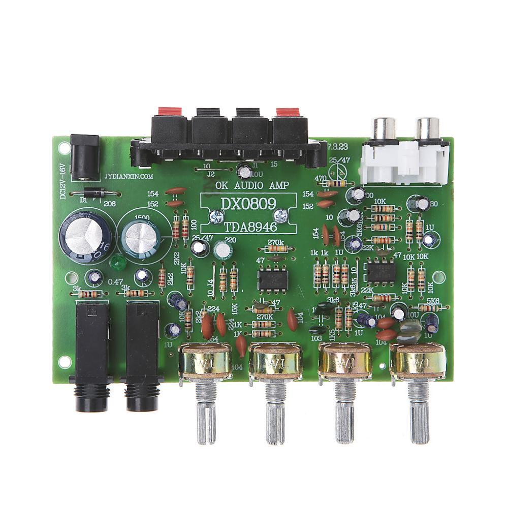 12V 60W Stereo Digital Audio Power Amplifier Board Electronic Circuit Module DIY