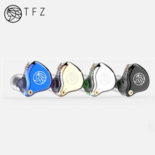 Auriculares internos híbridos con controlador dinámico TFZ T2, auriculares HIFI con Monitor de DJ, desmontables, 2 pines, 0,78mm, S2, AIR KING, n. ° 3, T3, QUEEN