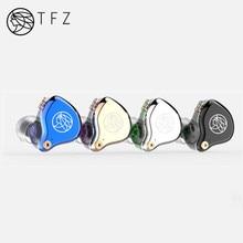 TFZ T2 Conducteur Dynamique Hybride Intra auriculaires Écouteurs HIFI DJ Moniteur Écouteurs Détachables 2pin 0.78mm S2 AIR KING NO 3 T3 REINE