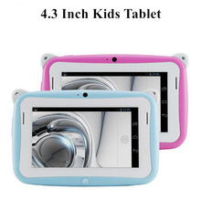 4.3inch Kids mp4 Tablet pc Children Education Learning pc Kids Games pad Capacitive Screen 2 Camera WiFi christmas gifts