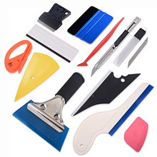 EHDIS Car Window Tint Tool kit Carbon Vinyl Wrap car Tools micro stick Squeegee Razor Scraper Film Cutter tinting Set