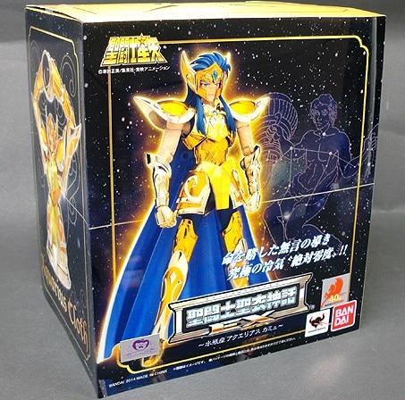 Nowy Model zabawki Saint Seiya tkaniny mit złoty Ex 2.0 Aquarius Camus figurka zabawka Bandai kolektora w Figurki i postaci od Zabawki i hobby na  Grupa 1