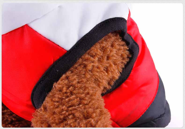 Popular Color Blocking Pet Apparel Dog Clothes Winter Puppy Dogs Vest Cotton-padded Jacket Coat for Chihuahua Teddy Poodle9