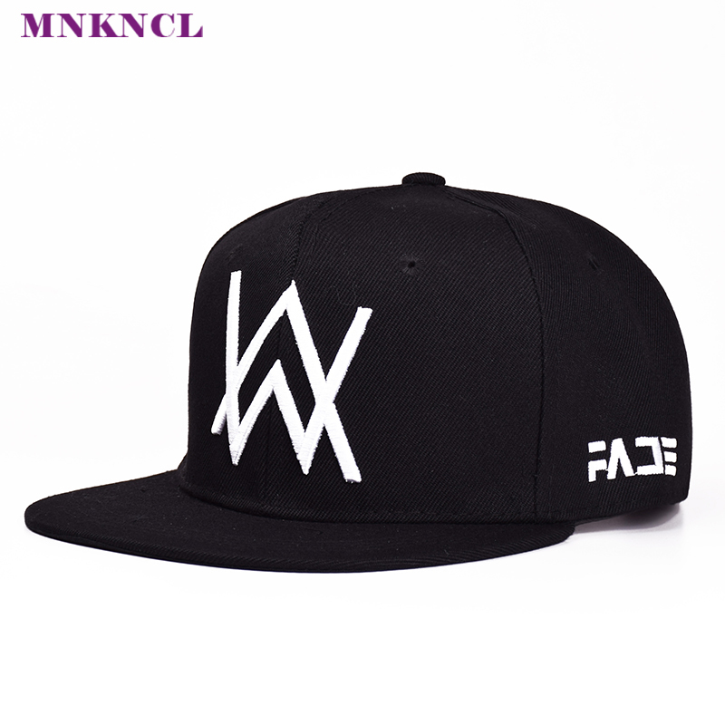 2017 New Alan Walker DJ Baseball Cap Alan Walker With The Return Of Men And Women Hip-hop Hats Bone Snapback Cap 2016 new korean children s pirate ship level for men and women baby embroidered baseball cap along the fringes of hip hop hat