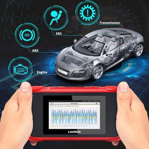 Image 2 - LAUNCH x431 CRP129E OBD2 Car Scanner ENG ABS SRS AT Diagnostic tool  EPB Oil SAS ETS TMPS Reset functions PK crp123 CRP129x