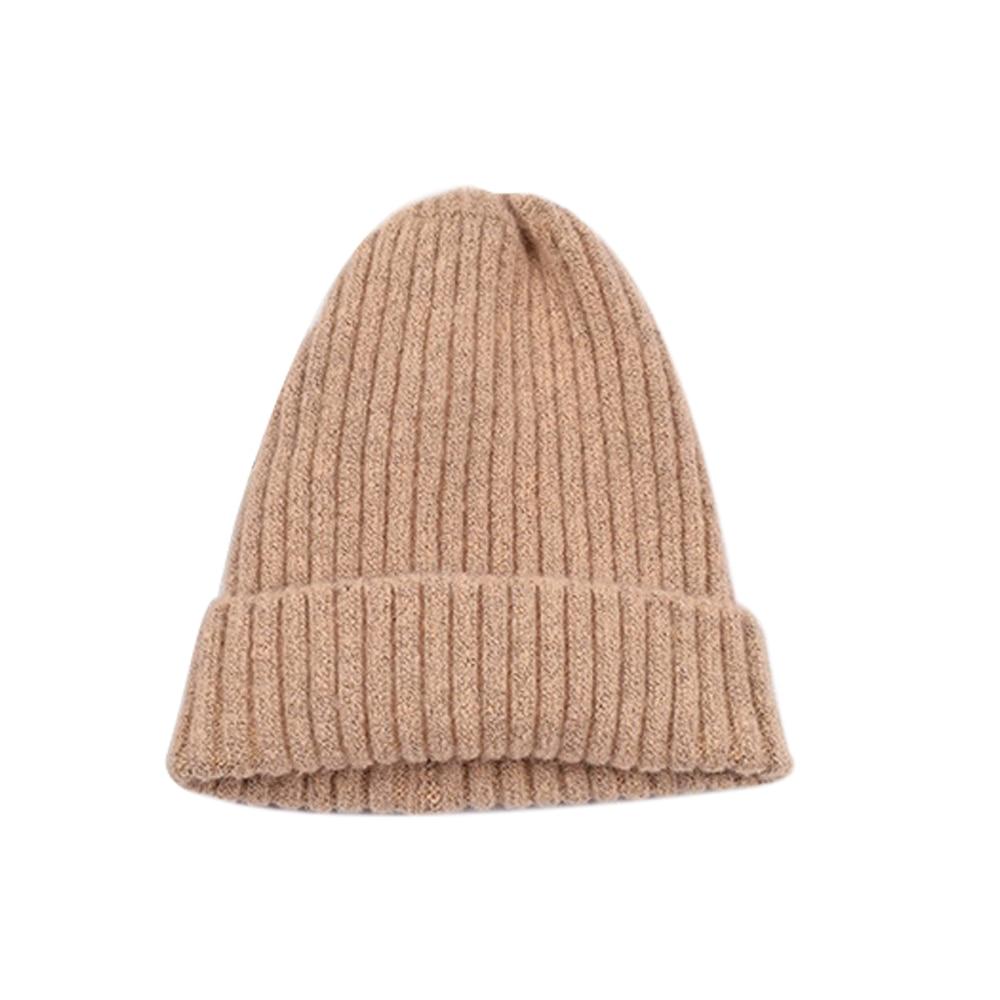 Вязаная шапка Повседневная Удобная зимняя унисекс игровая вязаная шапка - Цвет: light pink